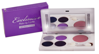 Seventeen Exclusive Make Up Palette:Purple Fashion
